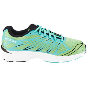 Salomon X-Tour 2 Trailrunning Shoe Women verbena green/softy blue/black
